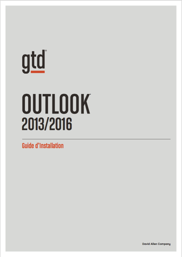 gtd outlook setup guide pdf